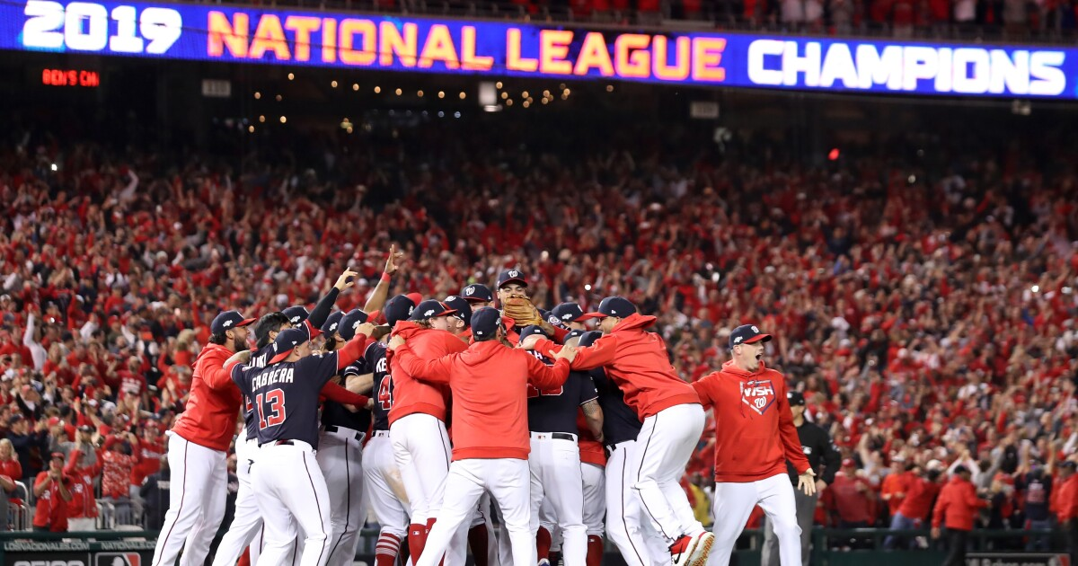 Wild-card Nationals head to World Series with sweep of Cardinals