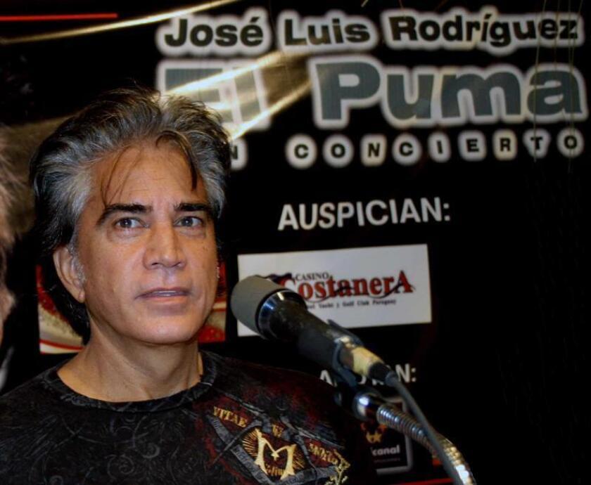 """El cantante venezolano José Luis """"El Puma"""" Rodríguez. EFE/Archivo"""