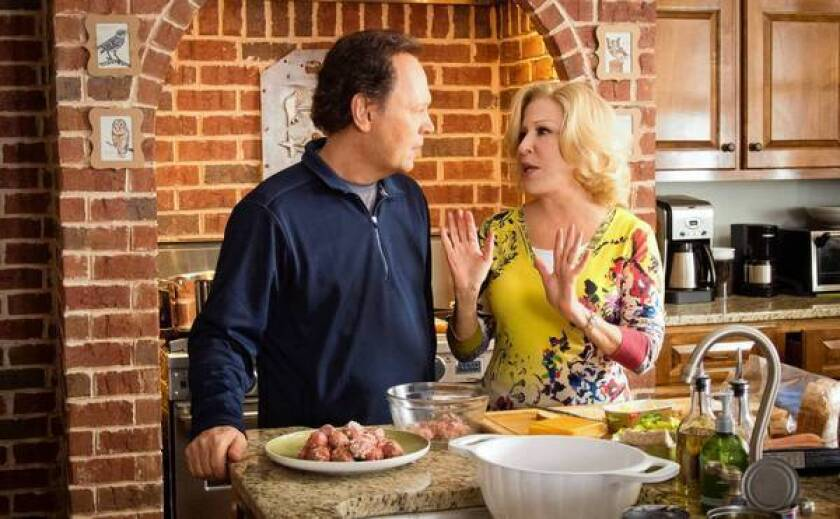 "Billy Crystal and Bette Midler star in ""Parental Guidance."""