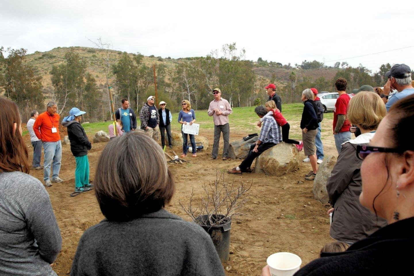 Arthur Keene, RSF Association Parks & Recreation manager, talks about Arroyo Park