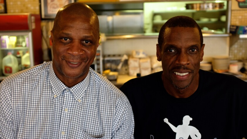 """ESPN's """"30 for 30"""" on Darryl Strawberry, left, and Dwight Gooden, co-directed by Judd Apatow and Michael Bonfiglio, to premiere July 14 on ESPN."""