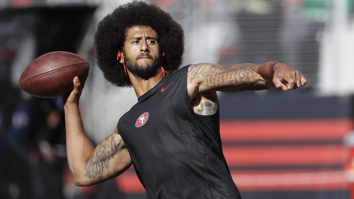 Colin Kaepernick partners with Disney/ESPN for projects on race and social injustice