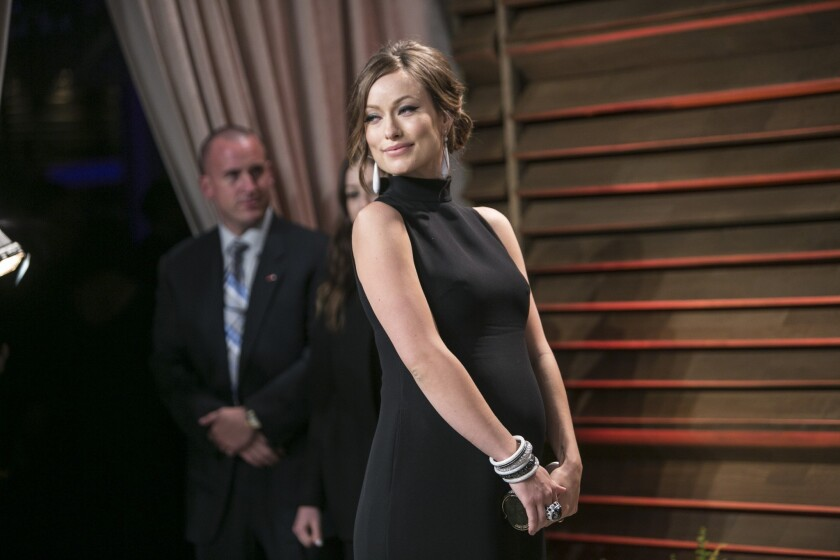 Olivia Wilde talks pregnancy in Lucky magazine's May 2014 issue.