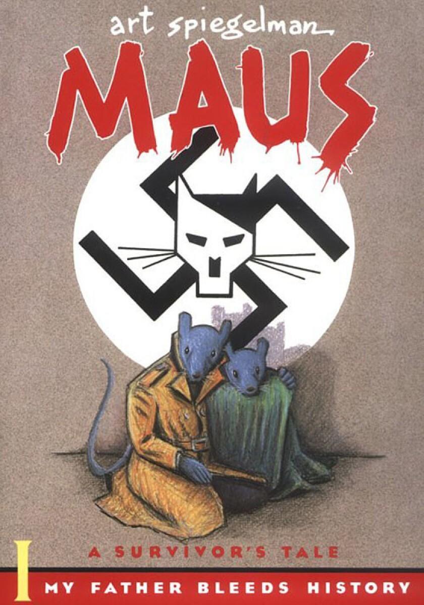 "The cover of Art Spiegelman's Pulitzer–Prize winning ""Maus: A Survivor's Tale""."