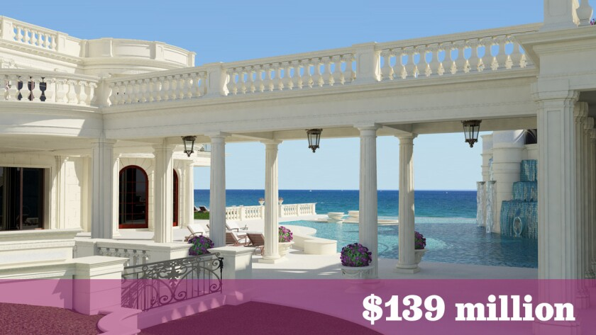 At $139 million, newly listed Florida home is most expensive in U.S.