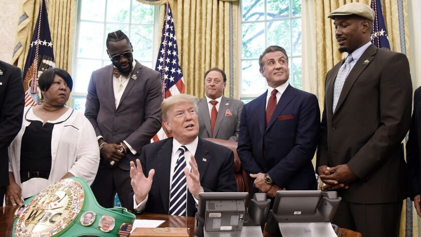President Trump Grants Posthumous Pardon To Former Heavyweight Champion Jack Johnson