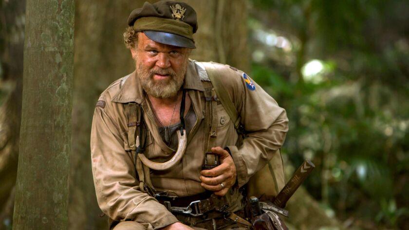 "John C. Reilly in ""Kong: Skull Island."""