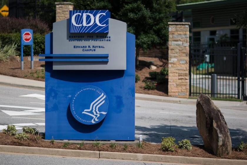 Aspecto de la entrada al Centro Para el Control y la Prevención de Enfermedades (CDC). EFE/Archivo