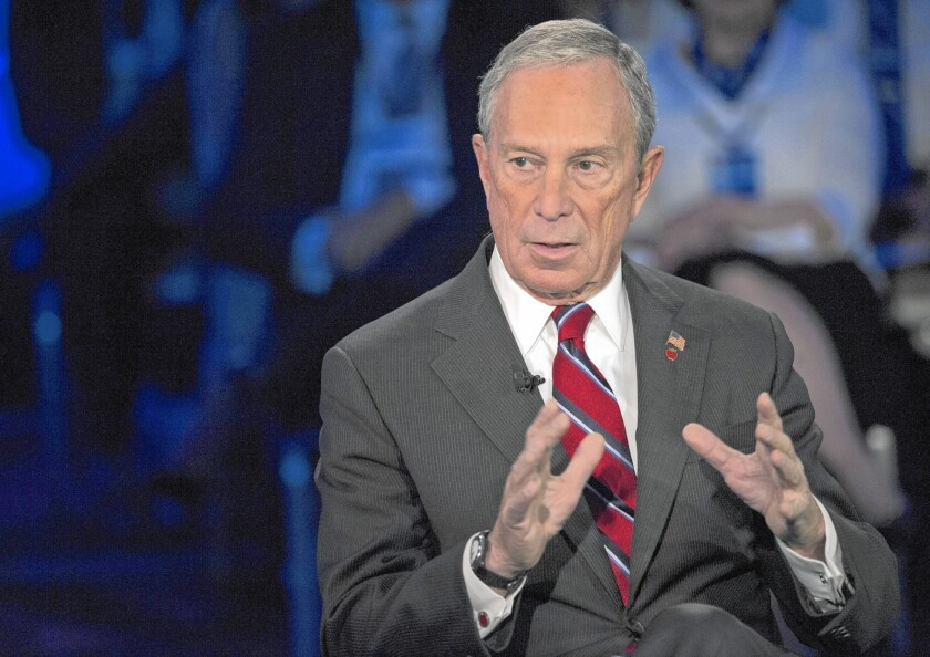 Former New York City Mayor Michael R. Bloomberg, shown in 2013, is reportedly preparing to jump into the Democratic presidential primaries.