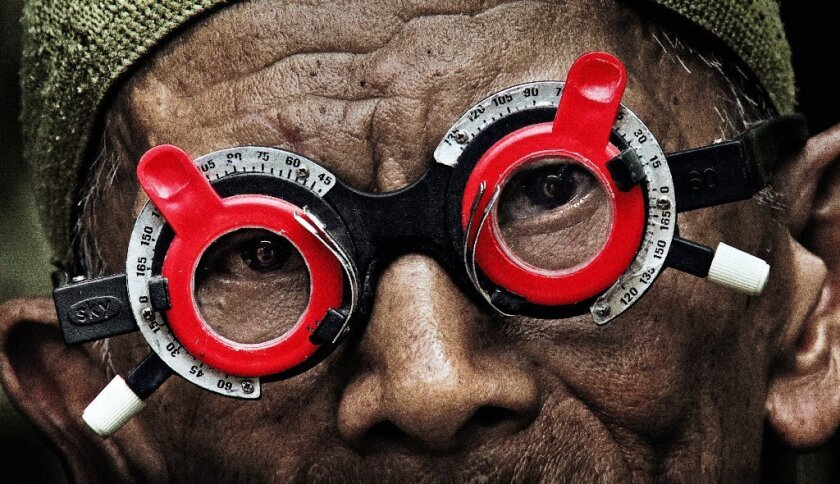 """A scene from the documentary """"The Look of Silence."""""""