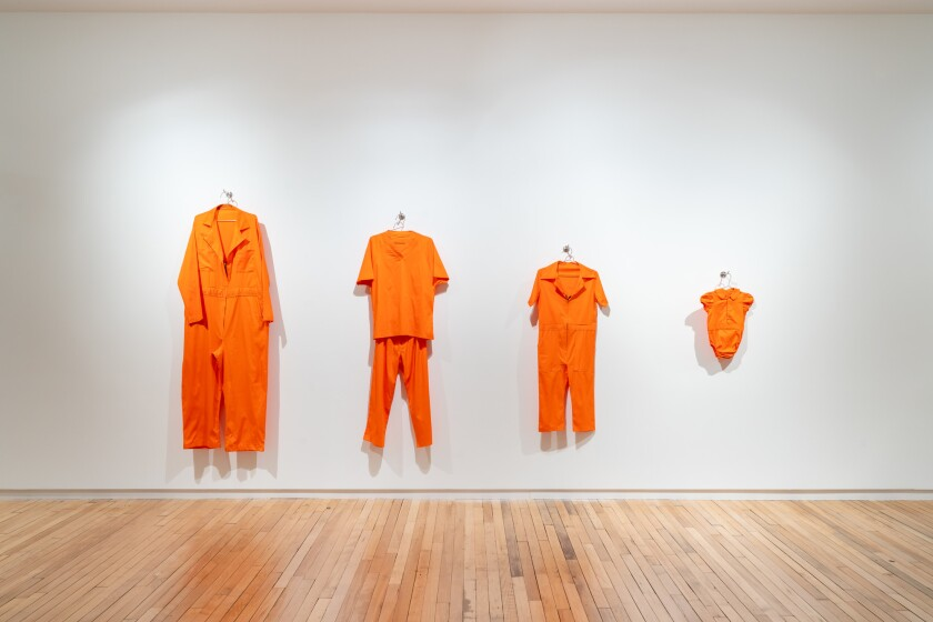 "ERRE's ""Orange Country"" is inspired by the detention of families at the border."