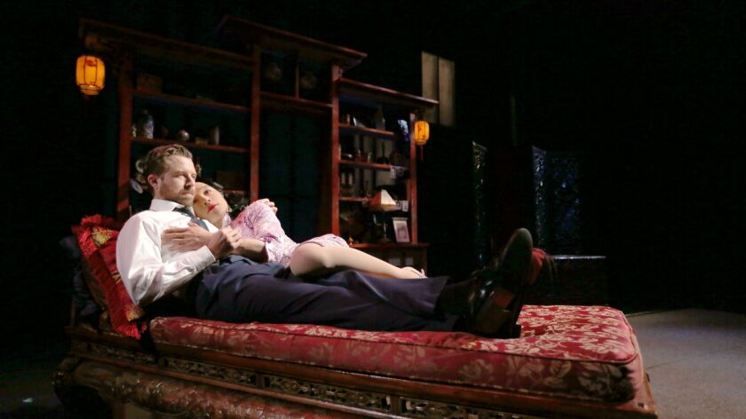 Review: David Henry Hwang's 'M  Butterfly' takes flight in a