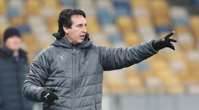 El entrenador del Arsenal Unai Emery. EFE/Archivo