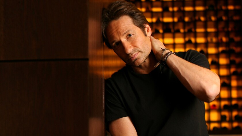 """David Duchovny, known for """"The X Files"""" and """"Californication,"""" is publishing his first novel, """"Holy Cow."""""""