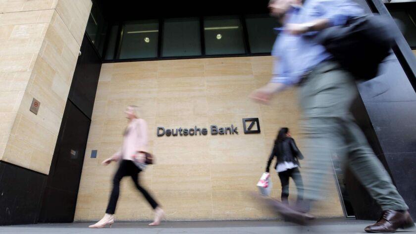 BRITAIN-GERMANY-BANKING-LAYOFFS-RESTRUCTURING-DEUTSCHE BANK