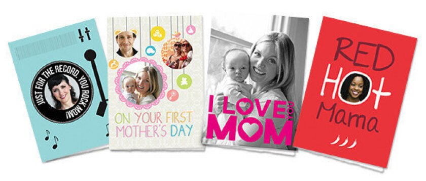 """Just in time for Mother's Day, Cleverbug has added a """"No Mom Left Behind"""" selection of cards that users can choose from."""