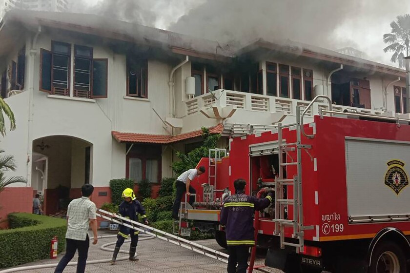 Thailand Indonesia Embassy Fire