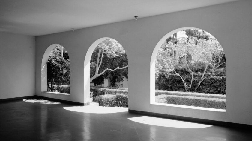 La Jolla Woman's Club on Draper Avenue is one of Irving Gill's most well-known designs.