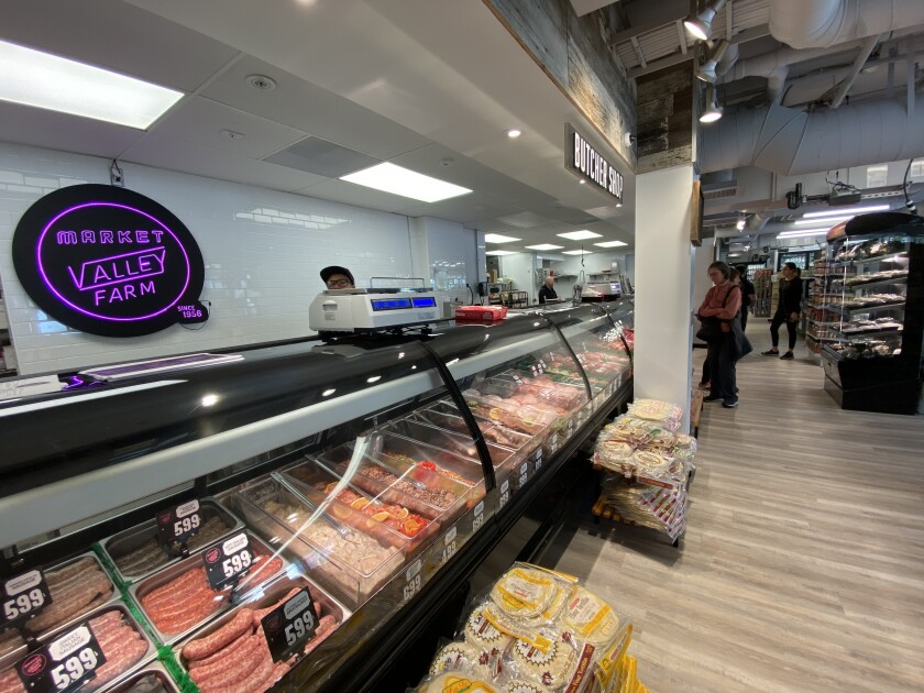 Valley Farm Market, a butcher shop and specialty store, fills a gaping void for high-end meat and organic produce in the Windansea Beach neighborhood at 6902 La Jolla Blvd.