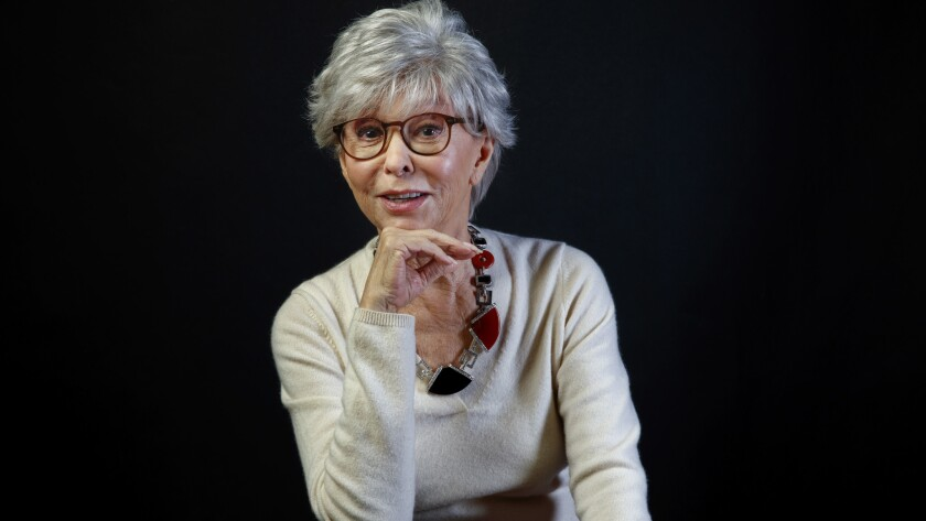 LOS ANGELES,CA --THURSDAY, MARCH 29, 2018--Actress, singer and dancer Rita Moreno, who has won all f