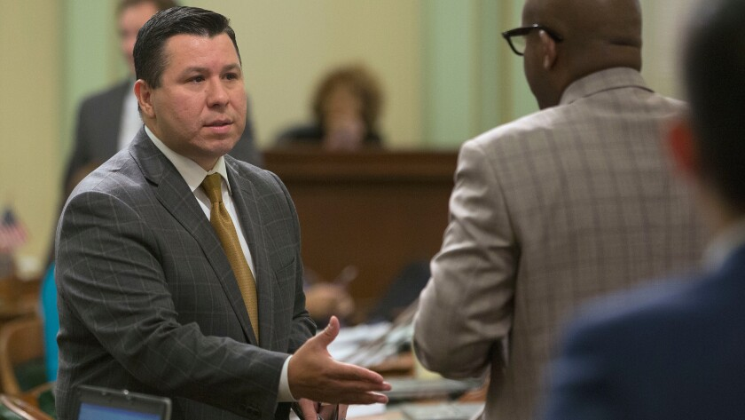 Assemblyman Eduardo Garcia (D-Coachella) helped lead the charge on climate legislation last year and is working with Assemblywoman Cristina Garcia (D-Bell Gardens) on a new proposal.