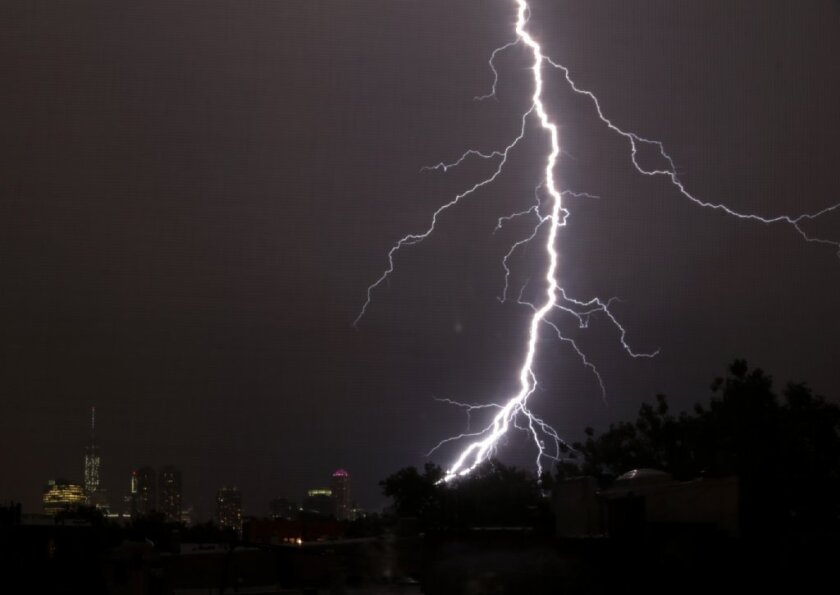 A new report from the CDC says that 182 Americans were killed by lightning between 2006 and 2010.