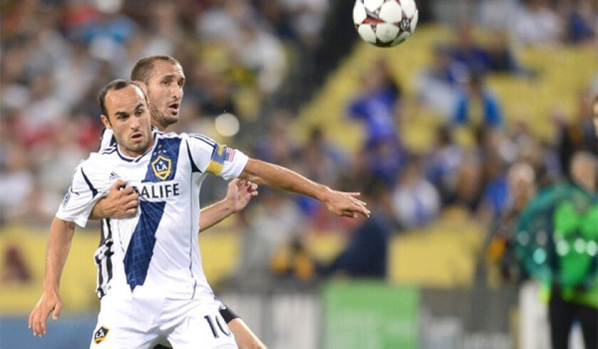 Landon Donovan has scored eight goals with seven assists in 17 matches for the L.A. Galaxy after making his return from a three-month break earlier this year.
