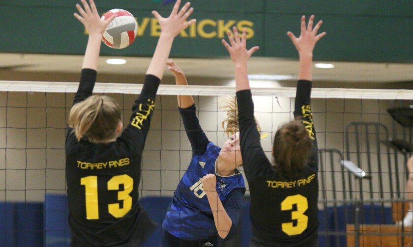 Torrey Pines made things tough at the net for La Costa Canyon.