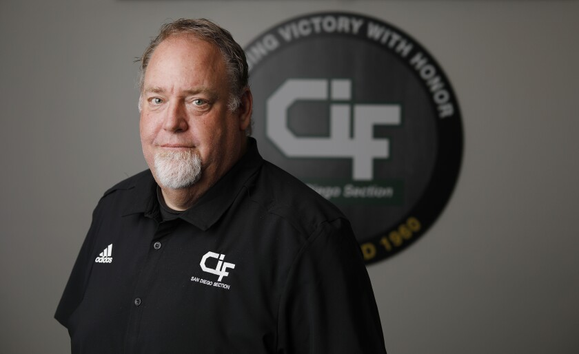 Joe Heinz is the new commissioner of the CIF's San Diego Section.