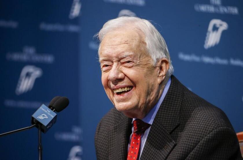 Former US President Jimmy Carter. EFE/EPA