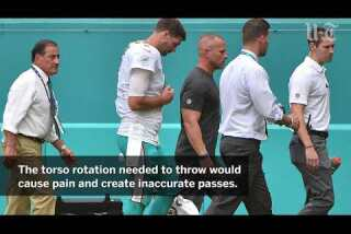 Cutler could miss just one game, even if Dolphins thinking Moore