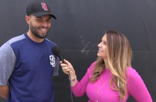 Eric Hosmer talks Hot Talent Lava t-shirts, leaving KC, California burritos and more