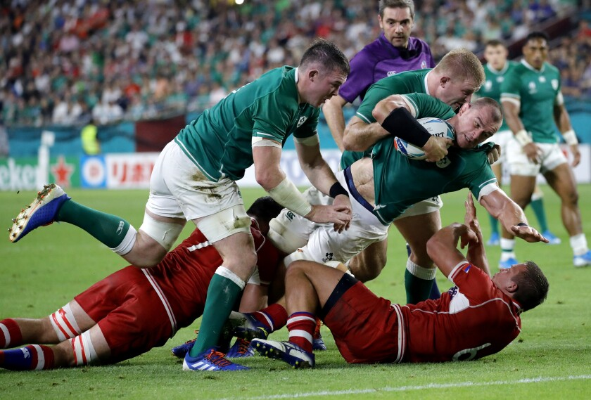 Japan Rugby WCup Ireland Russia