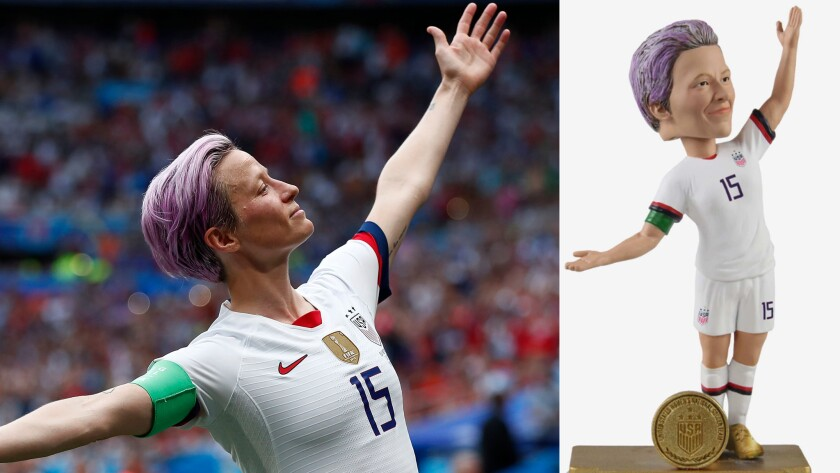 newest 2a0c3 38c67 U.S. women's soccer team starts to cash in on licensing ...