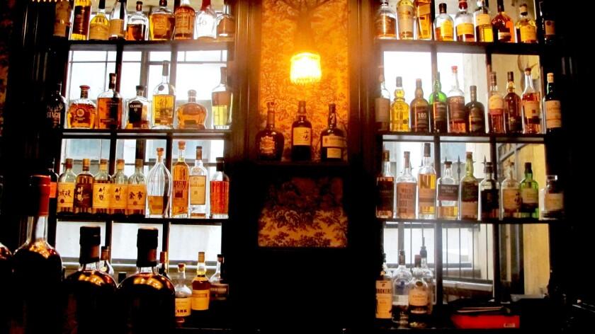 The interior of Bar Jackalope at Seven Grand.