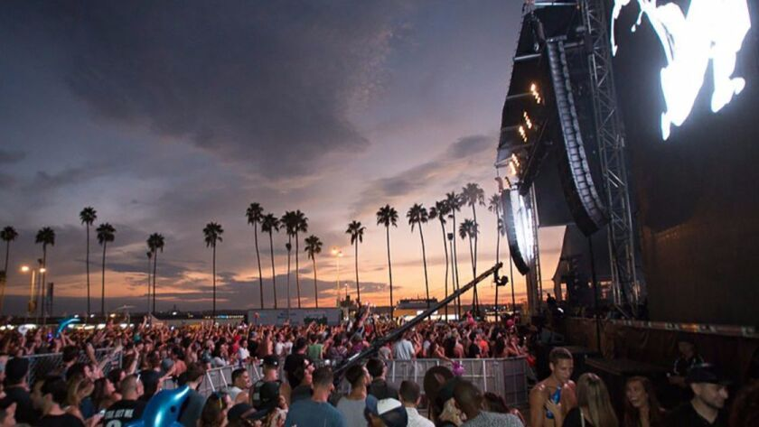 CRSSD Festival returns this weekend for its fourth edition at San Diego's Waterfront Park since 2015.