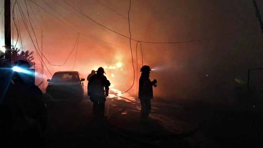 Tijuana firefighers