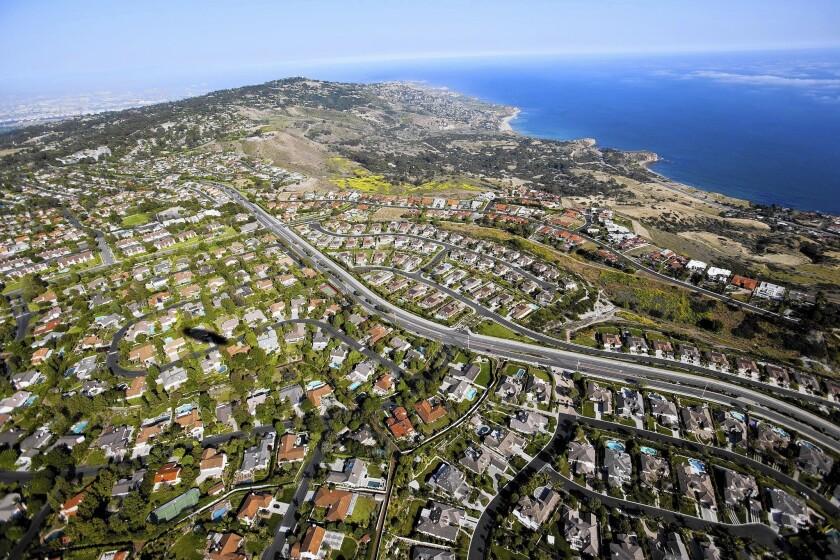 A neighborhood on the Palos Verdes Peninsula.