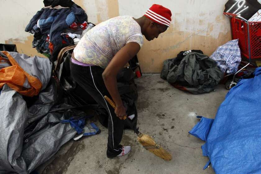 Court says L.A. must pay $700,000 to lawyers for skid row homeless