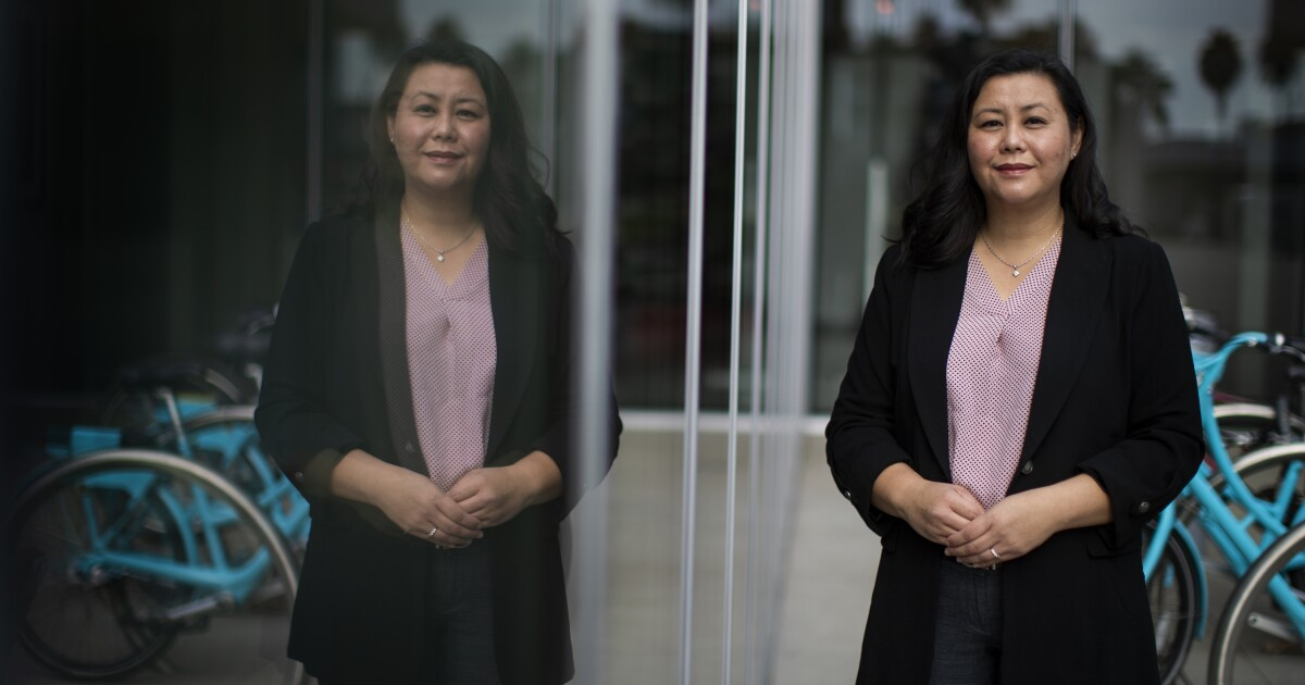 www.latimes.com: Column: Meet Suely Saro, the first Cambodian American elected official in Long Beach history