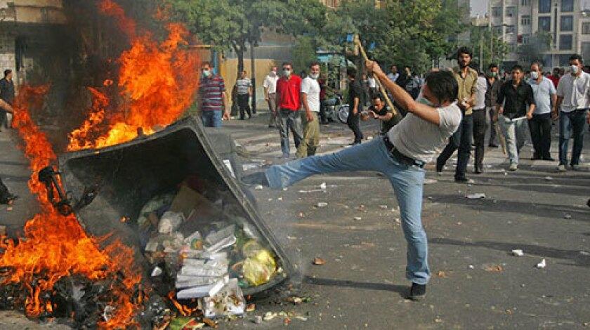 Defiance in Tehran