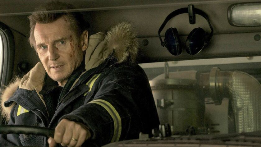 """Liam Neeson in the thriller """"Cold Pursuit."""""""