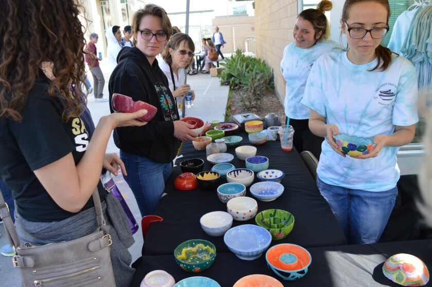 The Carlsbad Unified School District invites the community to its Festival of the Arts from 4 to 7 p.m. Friday at Sage Creek High School. Also, students will be hosting the third annual Empty Bowls event to help feed the hungry.