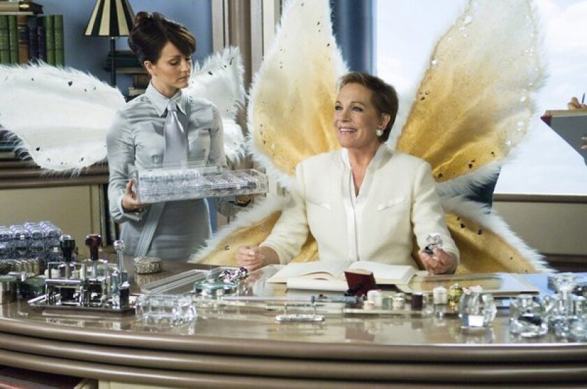 """After plunging in 2011, the amount left for kids who tuck fallen teeth underneath their pillows jumped last year. Tooth fairy matriarch Lily (Julie Andrews), in the 2010 movie """"Tooth Fairy,"""" would seem to approve."""