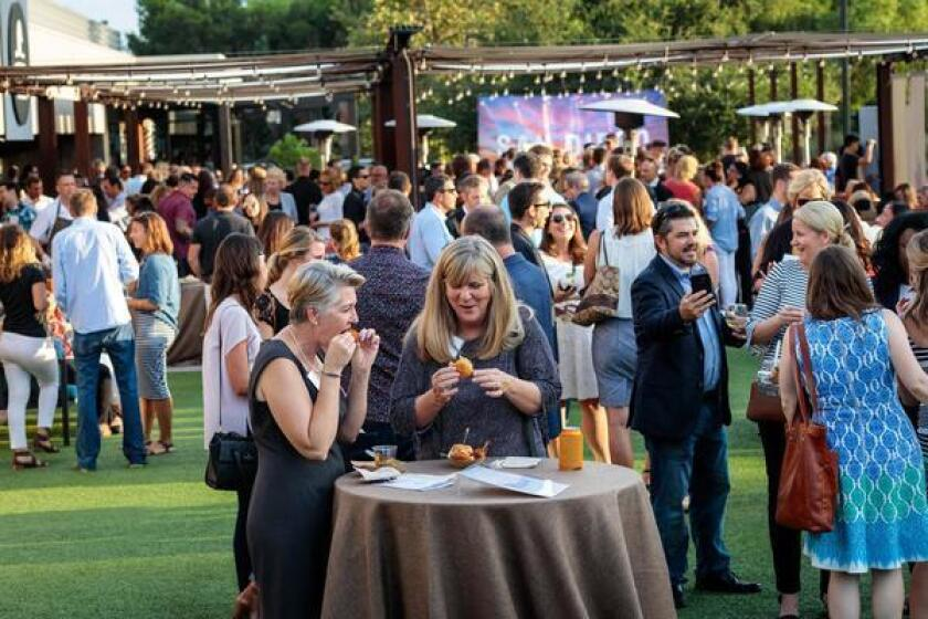 A scene from last year's Energy Independence Celebration. The 2019 event will take place 4-6 p.m. Saturday, June 29 at at Brian Malarkey's Farmer and the Seahorse, 10996 Torreyana Road, Suite 240, La Jolla and is open to the public. (858) 271-7758. sullivansolarpower.com