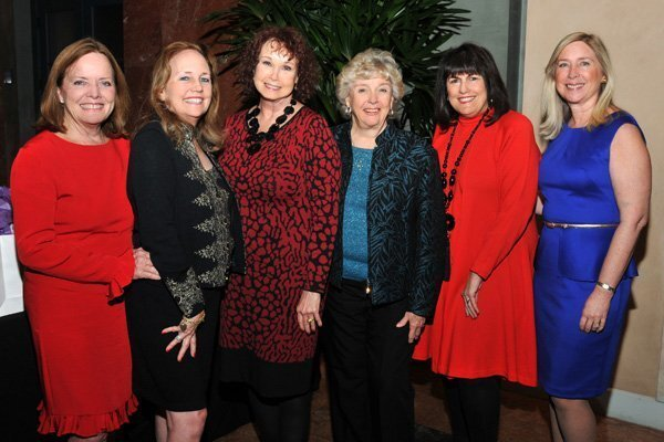 Past Charity Ball chairs: Marleen Shook (2010), Dulie Ahlering (2003), Clarice Perkins (2014), Tommi Adelizzi (1985), Nancie Geller (2013), Lisa Vieira (2011)