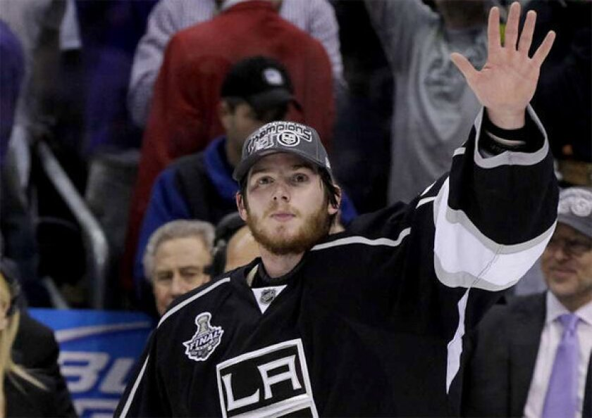 Kings goaltender Jonathan Quick will be assigned to Manchester of the American Hockey League.