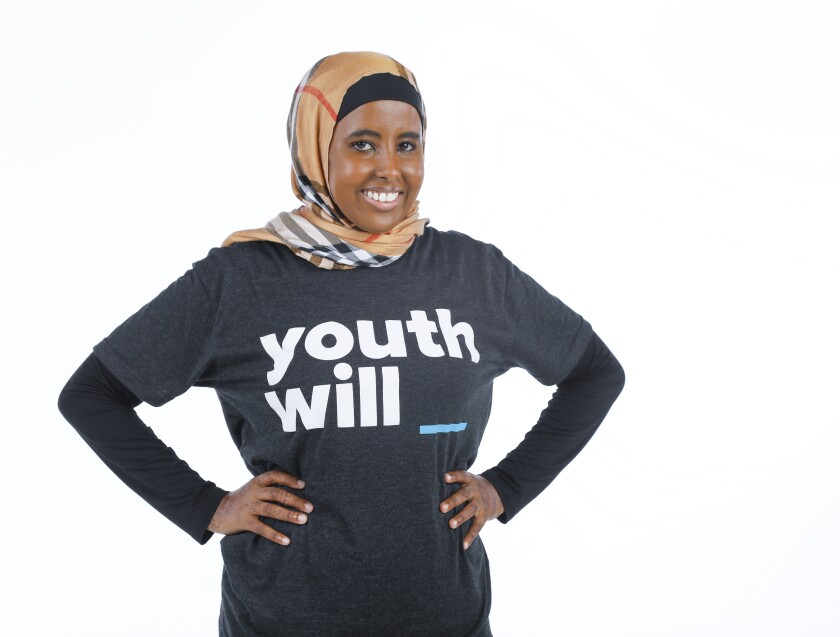 Warsan Artan is the head of operations and youth organizing at Youth Will, an organization that works to advocate for local children and young adults