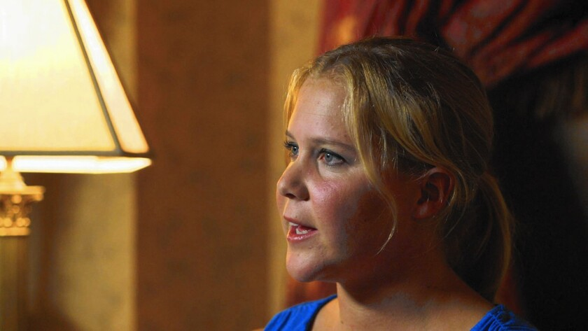 "Amy Schumer is among the comedians appearing in ""Misery Loves Comedy."""