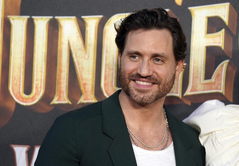 """El actor venezolano Edgar Ramírez, miembro del elenco de """"Jungle Cruise"""""""
